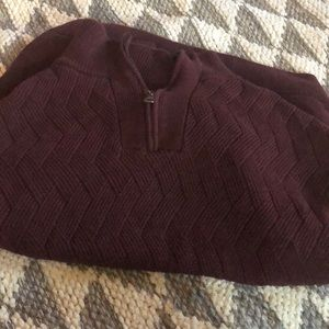 Burgundy Men's Sweater